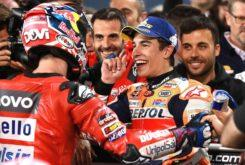Marc Marquez Andrea Dovizioso MotoGP Qatar 2019