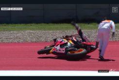 Caida Marc Marquez MotoGP Austin 20192