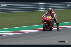 Caida Marc Marquez MotoGP Austin 20194