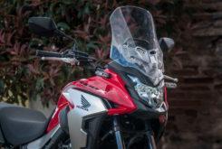 Honda CB500X 2019 aerodinamica