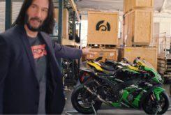 Keanu Reeves video Kawasaki ZX 10R