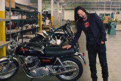 Keanu Reeves video norton commando 850