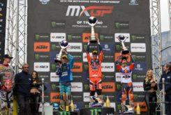 MXGP Italia Trentino motocross Jorge Prado KTM 250 SX F 2019 podio