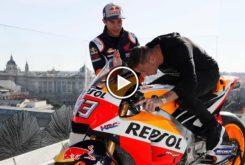 Marc Marquez Joaquin Honda RC213V