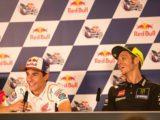 Marc Marquez Valentino Rossi rueda prensa MotoGP Austin 2019 01