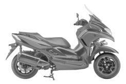Yamaha Tricity 300 BikeLeaks (2)
