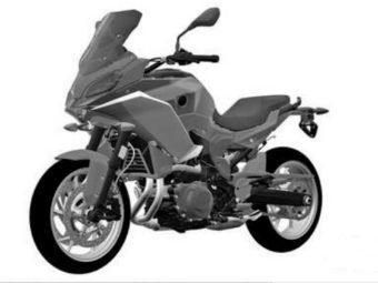 bmw f850 rs patente bikeleaks