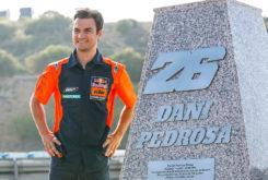 Dani Pedrosa curva Jerez MotoGP 2019