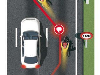 Infracciones en moto Adelantar por la derecha