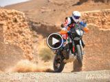 prueba KTM 790 Adventure R 2019 video