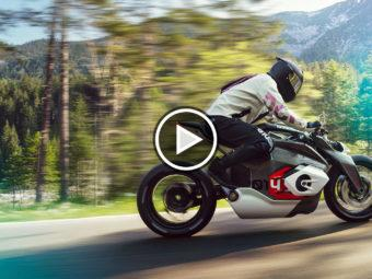 BMW Vision DC Roadster moto electrica play