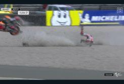 Caída Jorge Lorenzo FP1 GP Assen 201912