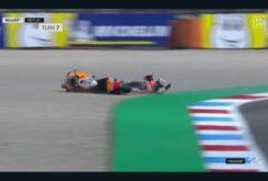 Caída Jorge Lorenzo FP1 GP Assen 20196