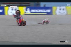 Caída Jorge Lorenzo FP1 GP Assen 20198