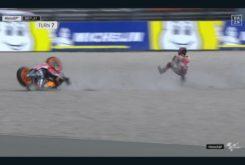 Caída Jorge Lorenzo FP1 GP Assen 20199