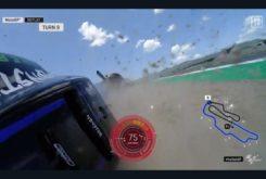 Caida Valentino Rossi Mugello 20196
