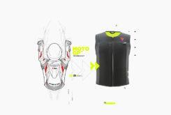 Dainese Smart Jacket airbag seguridad moto tecnologia D Air chaleco