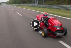 Honda Mean Mower V2 record 160 kmh play