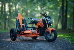 Honda custom grom sidecar