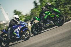 Kawasaki Ninja 125 vs Suzuki GSX R 125 (11)