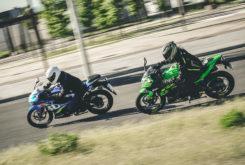 Kawasaki Ninja 125 vs Suzuki GSX R 125 (12)