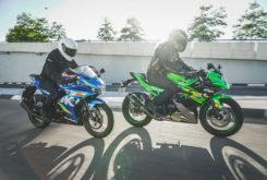 Kawasaki Ninja 125 vs Suzuki GSX R 125 (45)