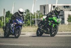 Kawasaki Ninja 125 vs Suzuki GSX R 125 (9)
