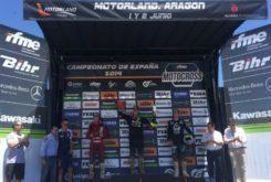 MX Motorland 2019 podio