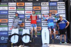 MX Motorland Copa Yamaha podio