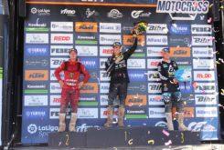 MX1 Motorland 2019 podium