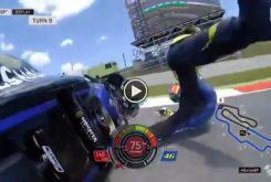 Valentino Rossi caida MotoGP Mugello 2019