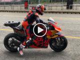 Video Dani Pedrosa KTM RC16 MotoGP