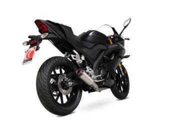 Escape Scorpion Yamaha YZF R125 2019 bihr6