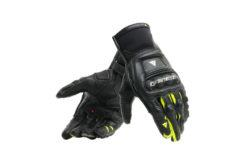 Guantes Dainese steel pro in gloves rojo amarillo