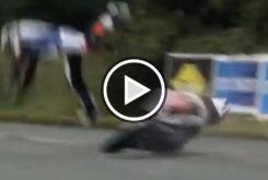 Michael Dunlop accidente caida Southern 100 fractura pelvis