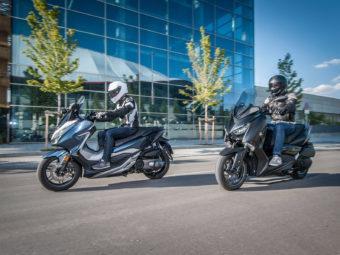 Yamaha Xmax 300 Honda Forza 300 20199