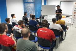 curso conduccion Ducati Madrid 08