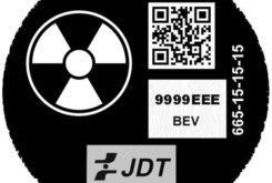 etiqueta dgt radiactivo