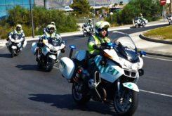 guardia civil en motos
