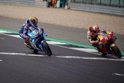 Alex Rins Marc Marquez MotoGP Silverstone 2019