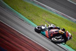Dani Pedrosa KTM Test MotoGP Misano