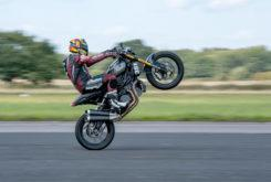 Indian FTR 1200 S record wheelie 2019 10