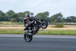 Indian FTR 1200 S record wheelie 2019 12