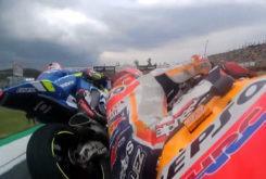 Marquez Rins Toque QP MotoGP Brno