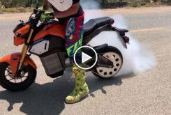 Proyecto Electrom Honda MSX125 Grom electrica video