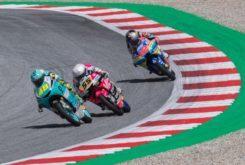Sanciones Moto3 GP Austria 2019