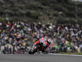 Tribuna grada ducati Cheste MotoGP