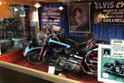 harley davidson flh 1200 electra glide 1976 Elvis Presley museo