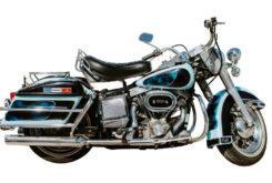 harley davidson flh 1200 electra glide 1976 Elvis Presley perfil 2
