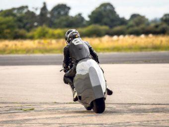 Record velocidad hayabusa Guy Martin 435 kmh